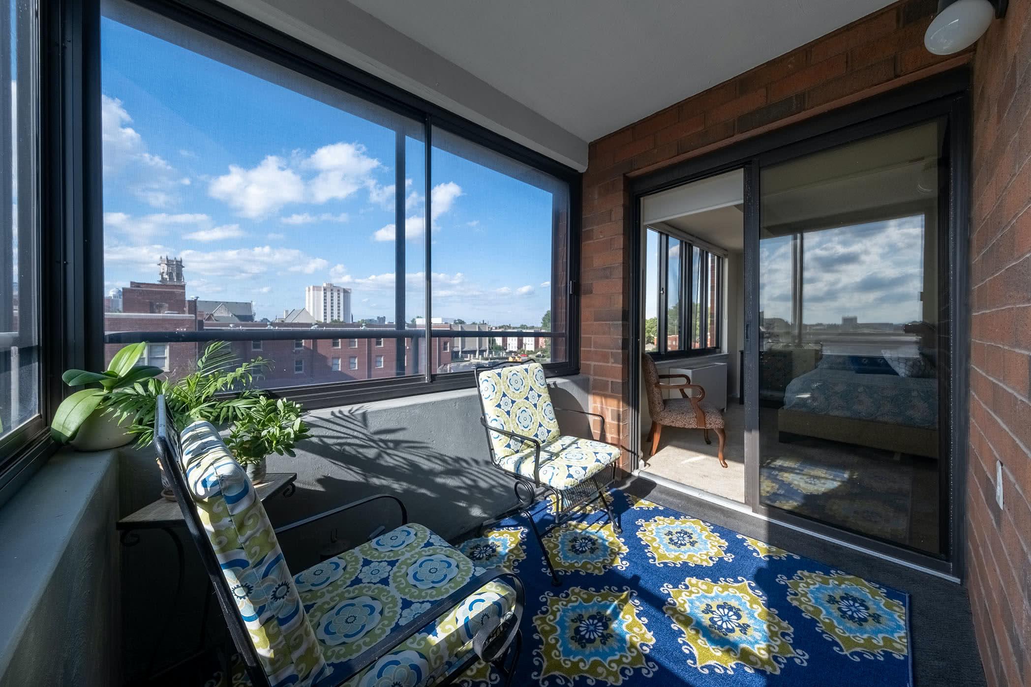 Apartment 713 interior