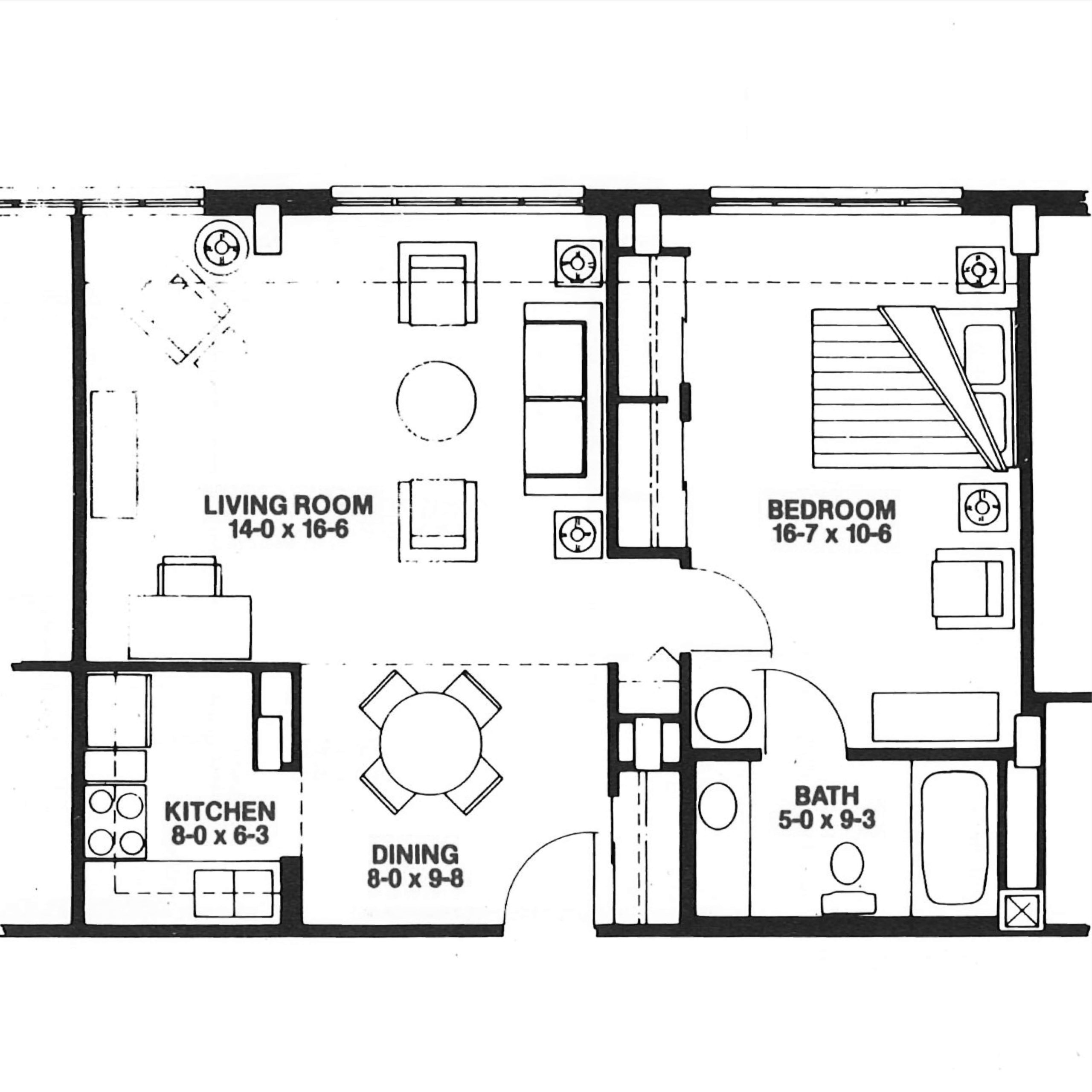 The Dogwood floor plan blueprint